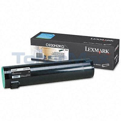 LEXMARK C935 TONER CARTRIDGE BLACK HY
